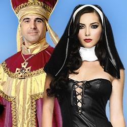 Religiöse Kostüme, Papst Kostüme, Faschingskostüme, Kostüme Fasching, Nonnenkostüme, Mönchkostüme