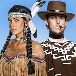 Faschingskostüme, Western Kostüme, Cowboy Kostüme, Cowgirls, Kostüme Fasching