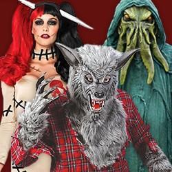 Halloween Monster Kostüme, Monster Kostüme, Monster Kostüme Damen, Monster Kostüme Frauen, Gestalten und Bestien Kostüme