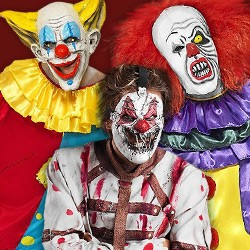 Horror clown Kostüm kaufen, Horror clown Kostüme xxl, Halloween Kostüme horror clown, Pennywise Kostüm kaufen, Psycho Clown Kostüm, Fatso Clown Kostüm, Horrorclown Kostüm Shop