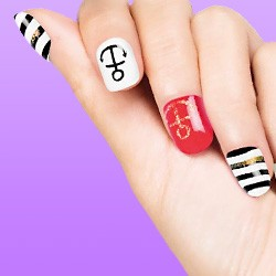 Artificial Nails: Halloween fingernails, fake nails