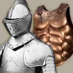 Metallrüstungen