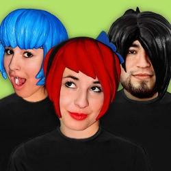 Anime & manga wigs – cosplay latex wigs