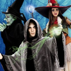 Wizard & Witch Costumes