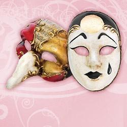 Venezianische Miniaturmasken