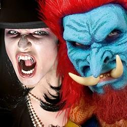 Monster- & Vampirzähne: Zähne & Hauer für Troll, Ork, Vampir, Monster Kreaturen (Vampirgebisse, Eckzähne, Vampireckzähne, Aufsteckzähne, Trollhauer, Orkhauer)