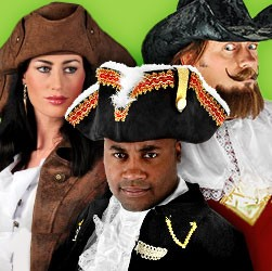Pirate Hats: Buy tricorn & hat for pirate costumes