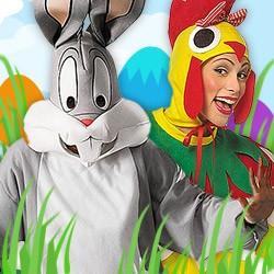 Kostüme und Verkleidungen für Ostern