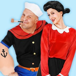 Partnerkostüme, Partnerkostüm, Kostüme für Partner, Partnerkostüme Fasching, Partnerkostüme Karneval