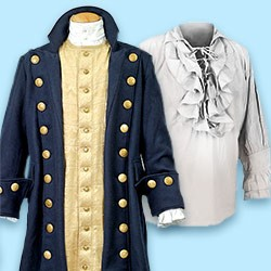 Pirate Clothing: Pirate coat, buccaneer shirt & more