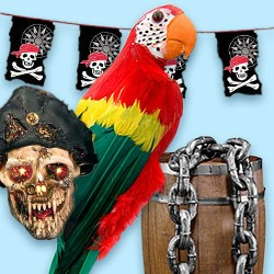 Pirate flag and more – buy pirate decorations