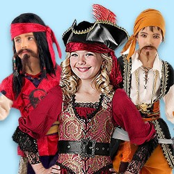 Buy pirate costumes for kids