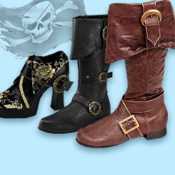 Pirate Boots: buy pirate shoes