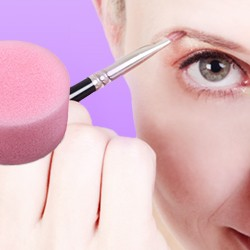 Buy make-up brush & make-up sponge