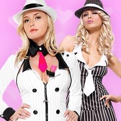 Sexy Gangster & Ganoven Kostüme