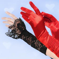 Sexy Kostüm-Accessoires - Verführische Handschuhe & sexy Armstulpen
