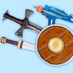 Spielzeugwaffen