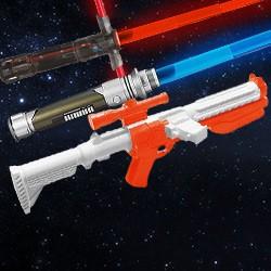 Star Wars Lichtschwerter, Laserschwerter und Blaster