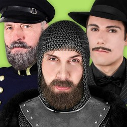 Fake beard shop: fake beards for Carnival & theater