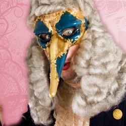 Original Venetian Carnival Masks - Zanni