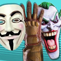 Superhelden Masken & Zubehör