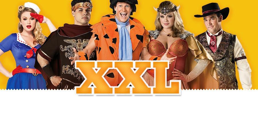 XXL Kostüme in großen Größen und Übergrößen - XXL-Kostüme, XXXL-Kostüme für Damen und Herren