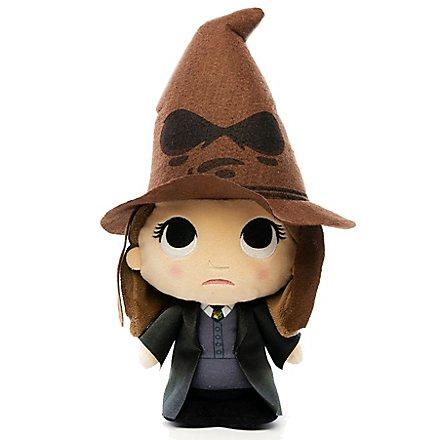 Harry Potter - Plüschfigur Hermine Granger mit sprechendem Hut SuperCute