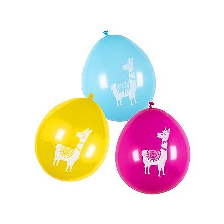 Lama Luftballons 6 Stück