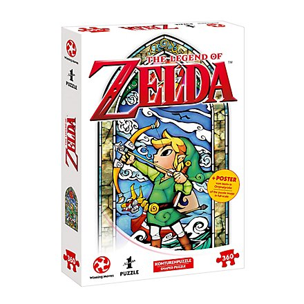 Puzzle Zelda Link-Hero's Bow, 360 pc