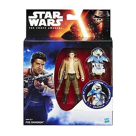 Star Wars Actionfigur Poe Dameron mit Rüstung