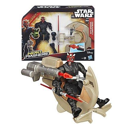 Star Wars Hero Mashers Darth Maul mit Speeder