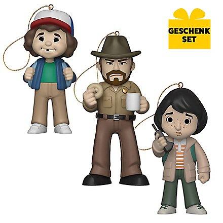 Stranger Things - Geschenk-Set aus 3 Anhängerfiguren