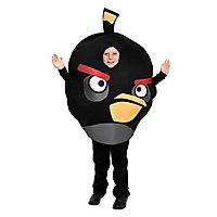 Angry Birds Kinderkostüm schwarz (Sonderposten)