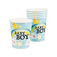 Baby Boy Pappbecher 6 Stück