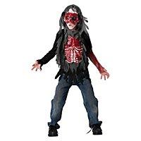 Blutiger Zombie Kinderkostüm