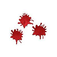 Blutspritzer Fensterdekoration