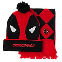 Deadpool - Beanie & Schal-Set Deadpool