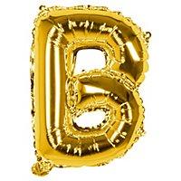 Folienballon Buchstabe B gold 36 cm