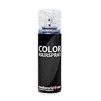 Glitterhaarspray blau