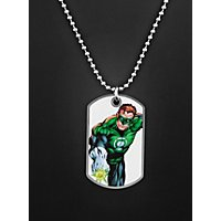 Green Lantern Dog Tag