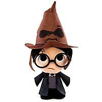 Harry Potter - Plüschfigur Harry Potter mit sprechendem Hut SuperCute
