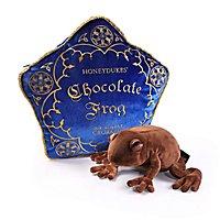 Harry Potter - Plüschfigur Schokofrosch inkl. Kissen