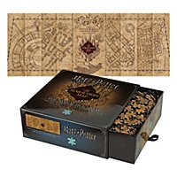 Harry Potter - Puzzle Die Karte des Rumtreibers