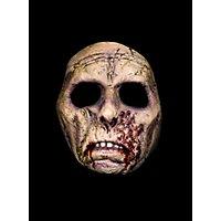 Hirnloser Zombie Halbmaske aus Latex