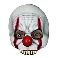 Horrorclown Halbmaske für Kinder