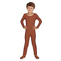 Langer Body für Kinder braun