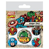 Marvel - Ansteck-Buttons Comic