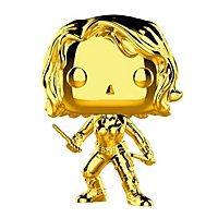 Marvel - Black Widow (Gold Chrome) Funko POP! Wackelkopf Figur