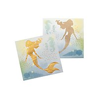 Meerjungfrau Servietten 12 Stück