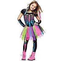 Neon Geister Girl Kinderkostüm
